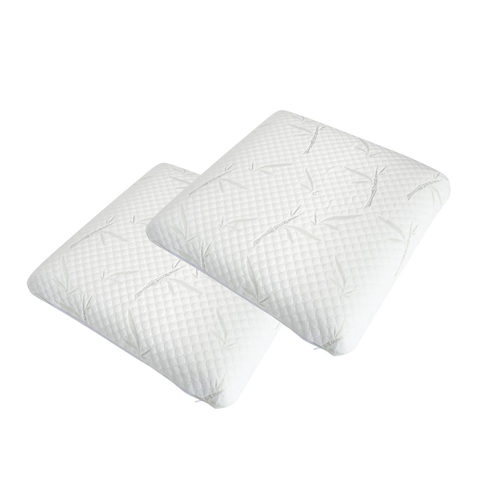 Lot de 2 oreillers mémoire de forme