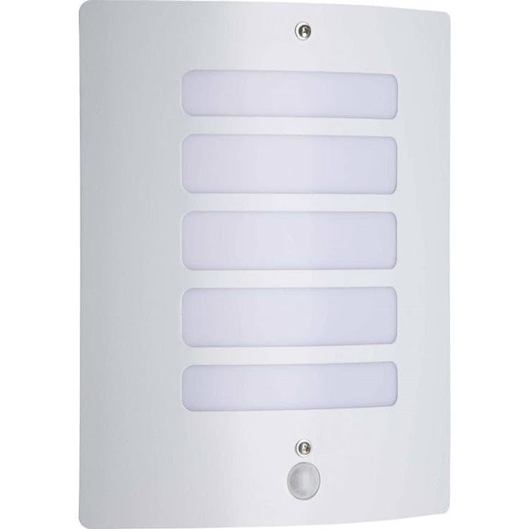 Applique d'extérieur avec détecteur blanc H29cm