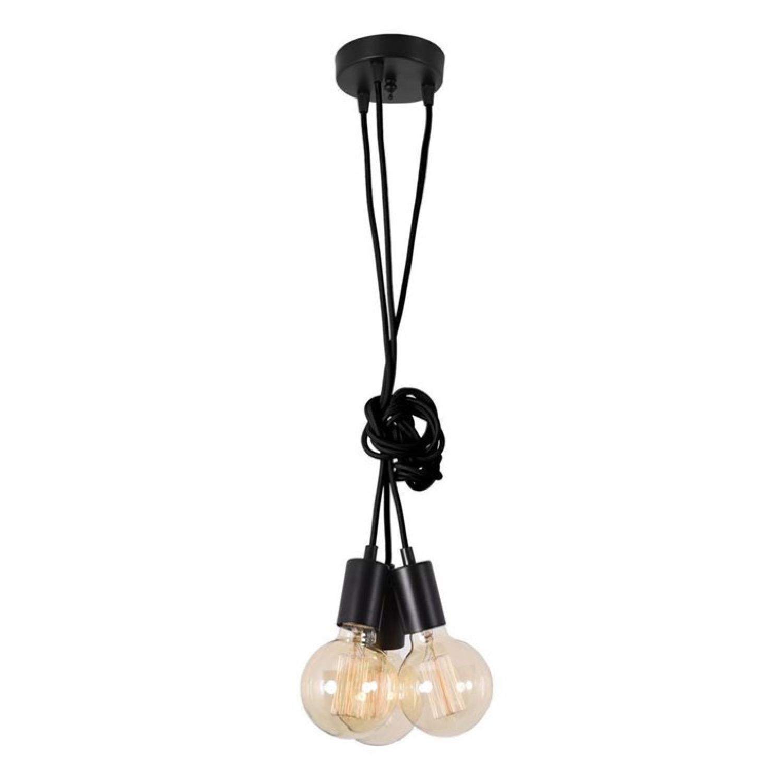 Suspension 3 lumières modulable câble L150cm