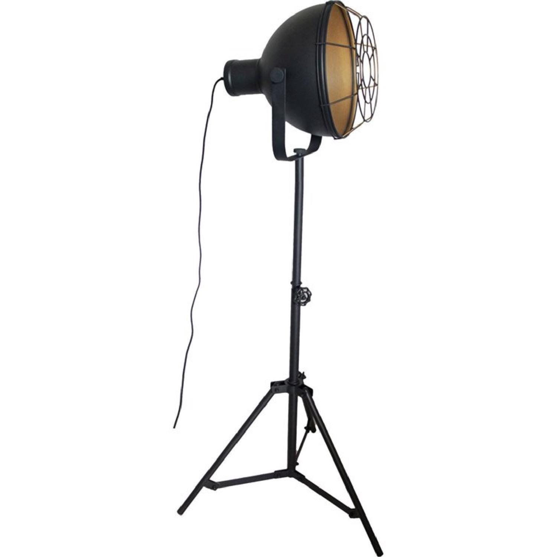 Lampadaire métal H166cm
