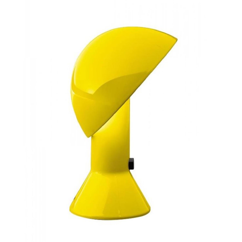 Lampe à poser jaune H28cm