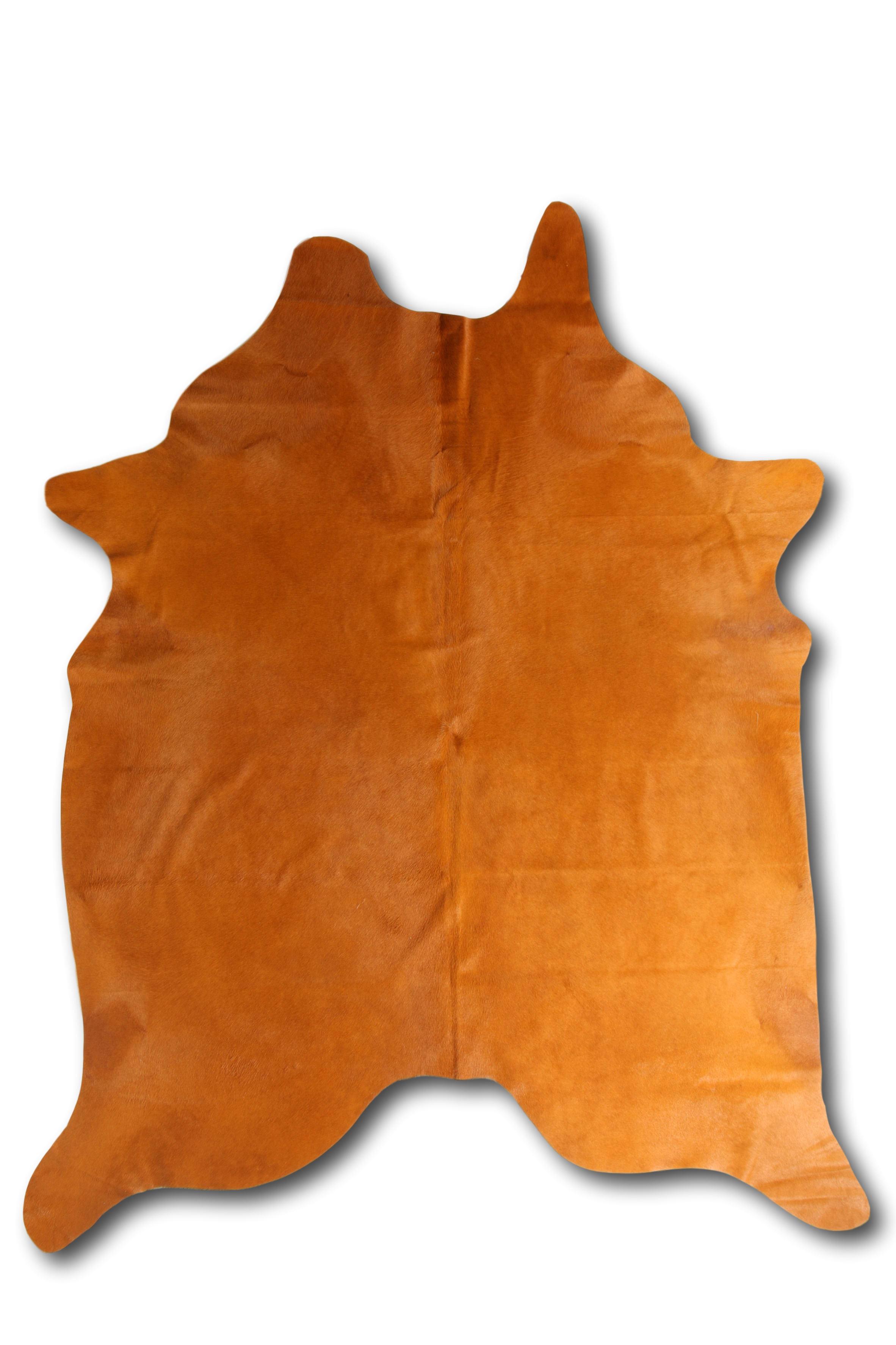 Tapis en peau de vache coloré ocer 180x200