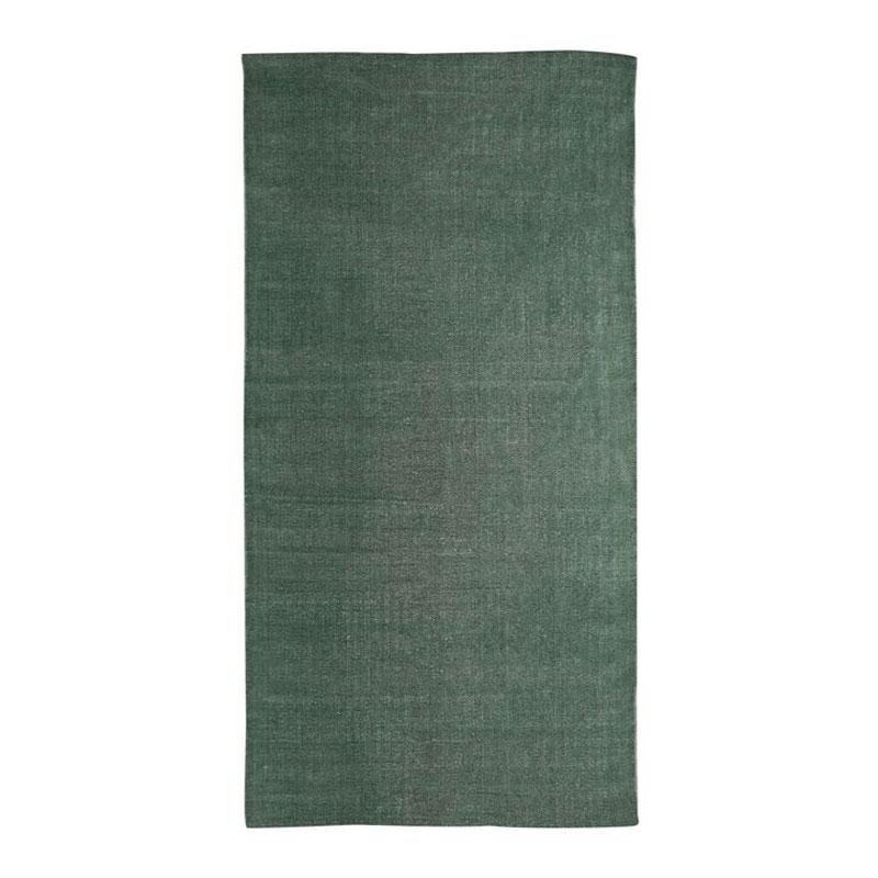 Tapis effet délavé vert foncé 60x120