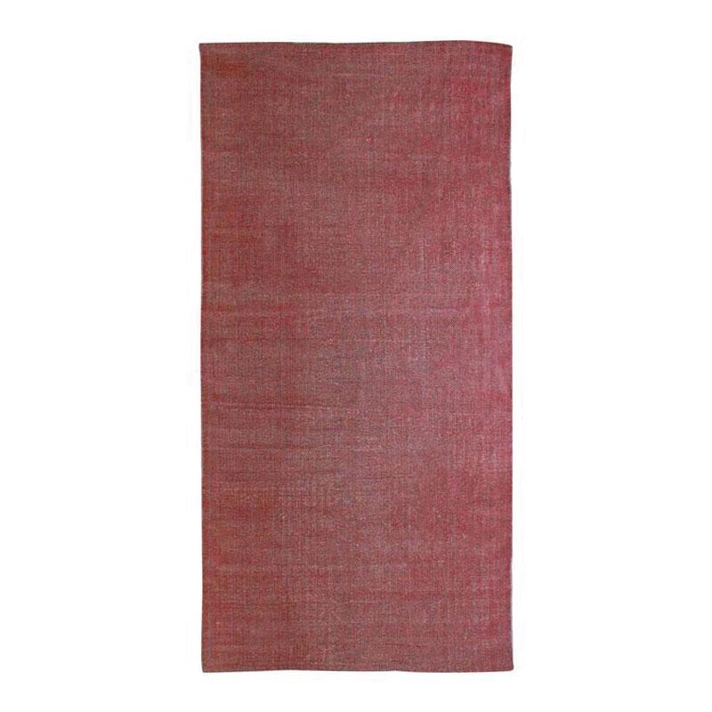 Tapis effet délavé rouge 60x120
