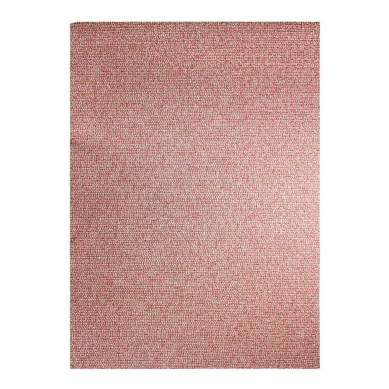 Tapis effet tweed pour intérieur et extérieur rouge 160x230