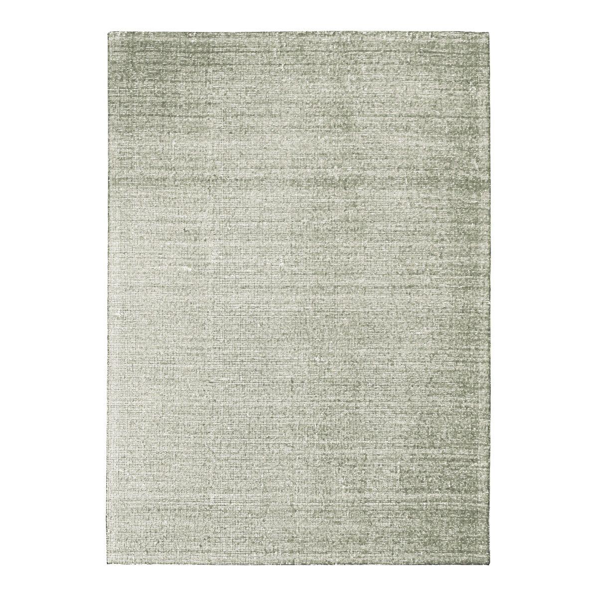 Tapis en laine et coton écru naturel 160x230