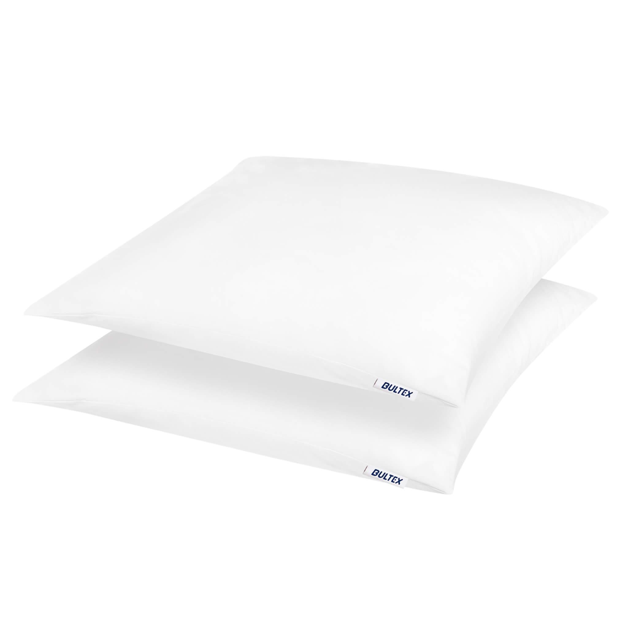Lot de 2 oreillers moelleux en polyester 60x60