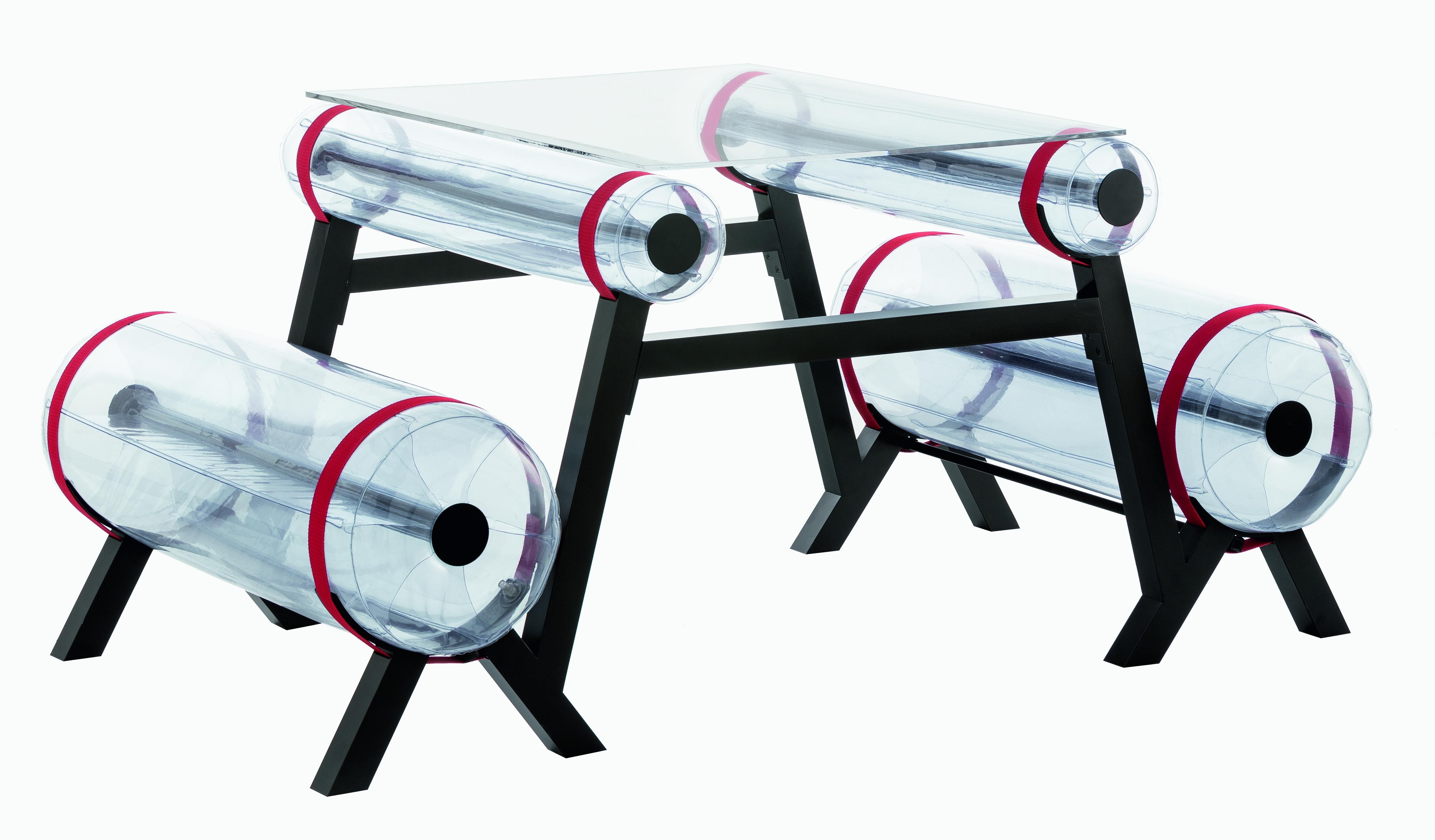 Table transparente L100 intérieur ou extérieur