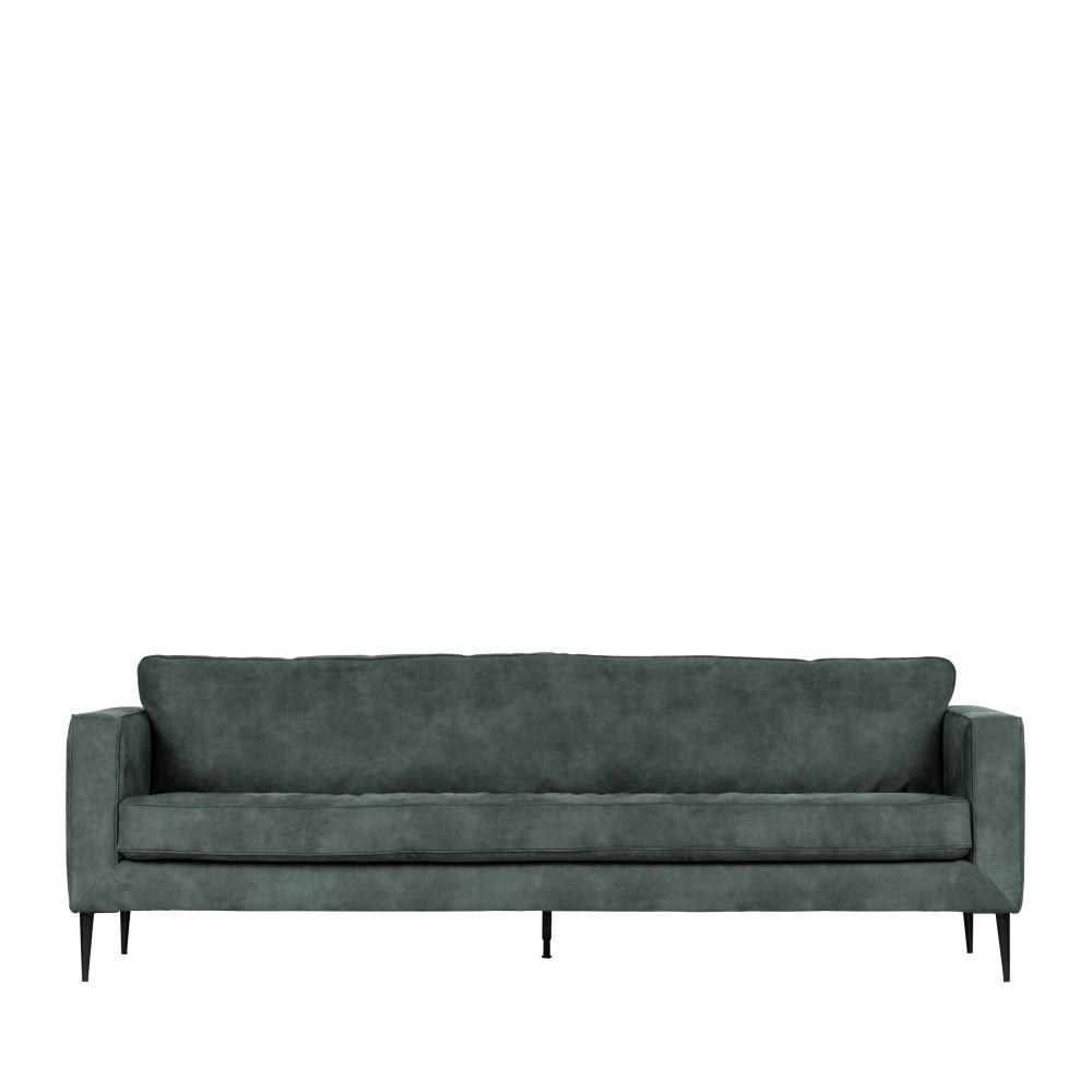 Canapé 3 places aspect daim - Vtwonen Gris