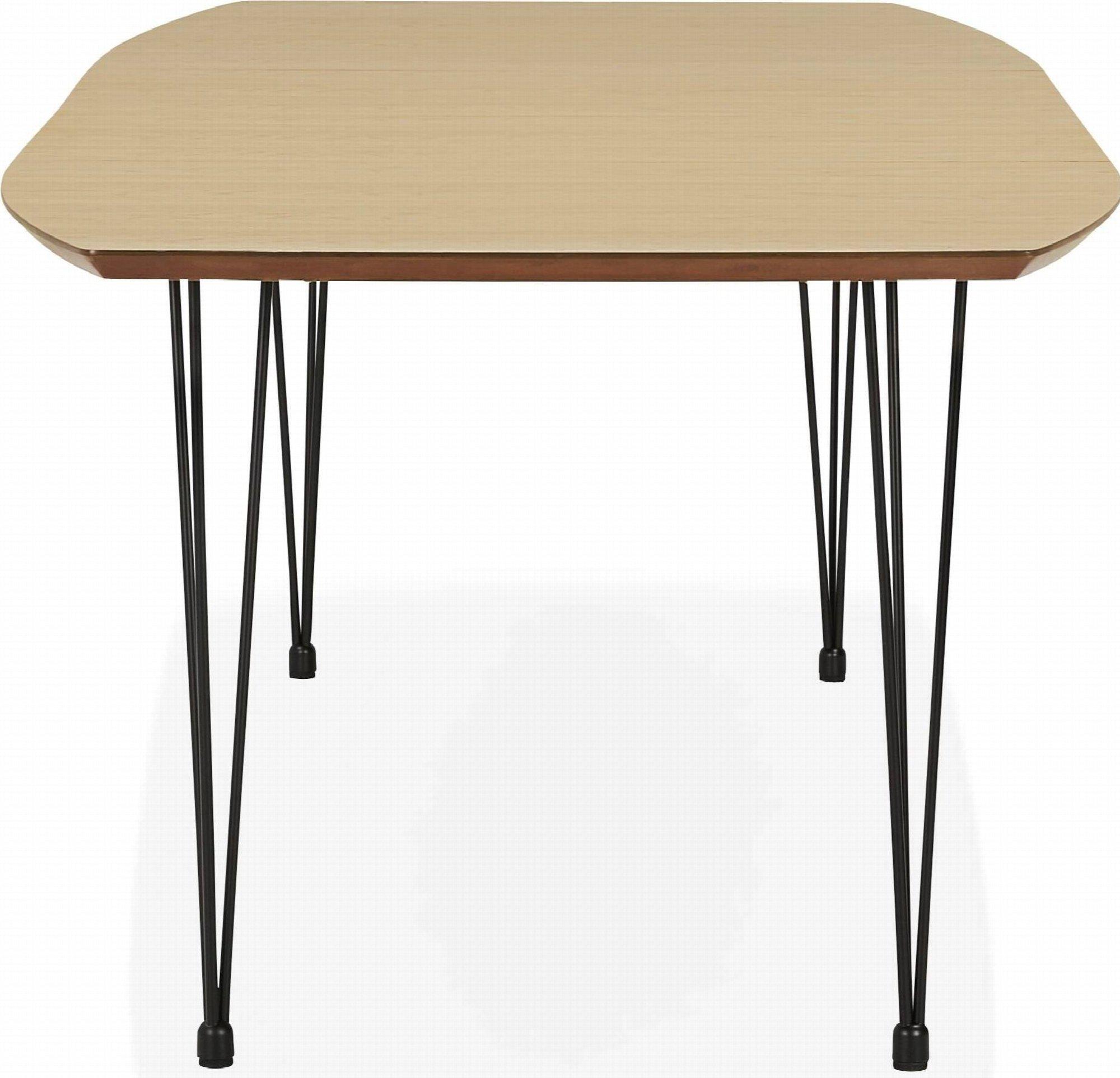 Table à manger plateau bois clair 10 places l270cm