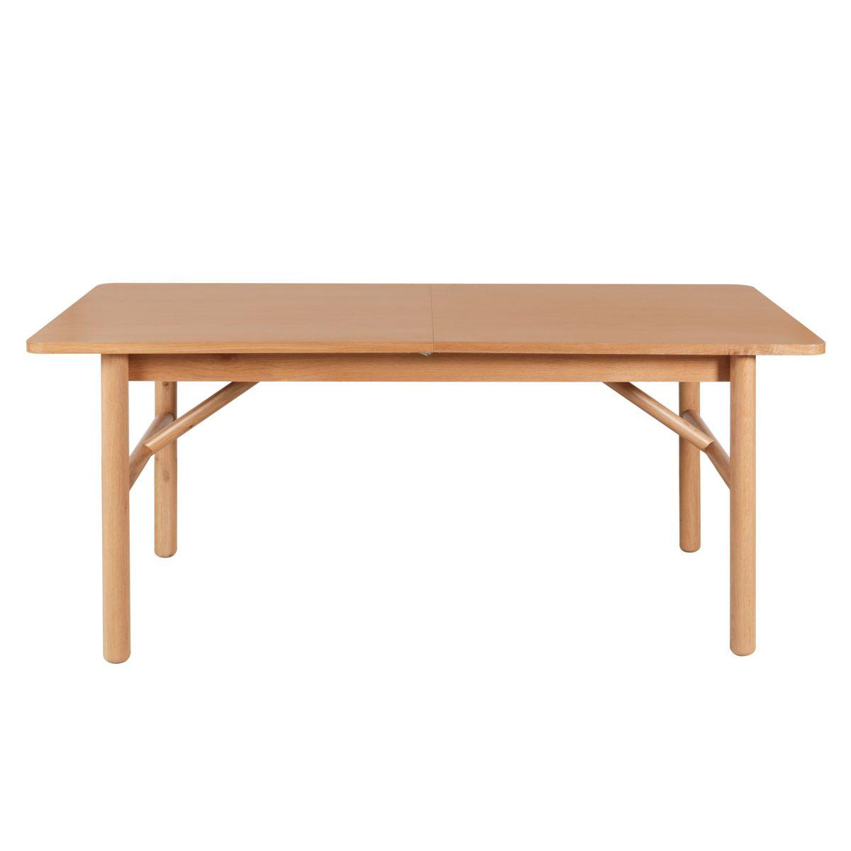 maison du monde Table extensible en chêne naturel 180 cm