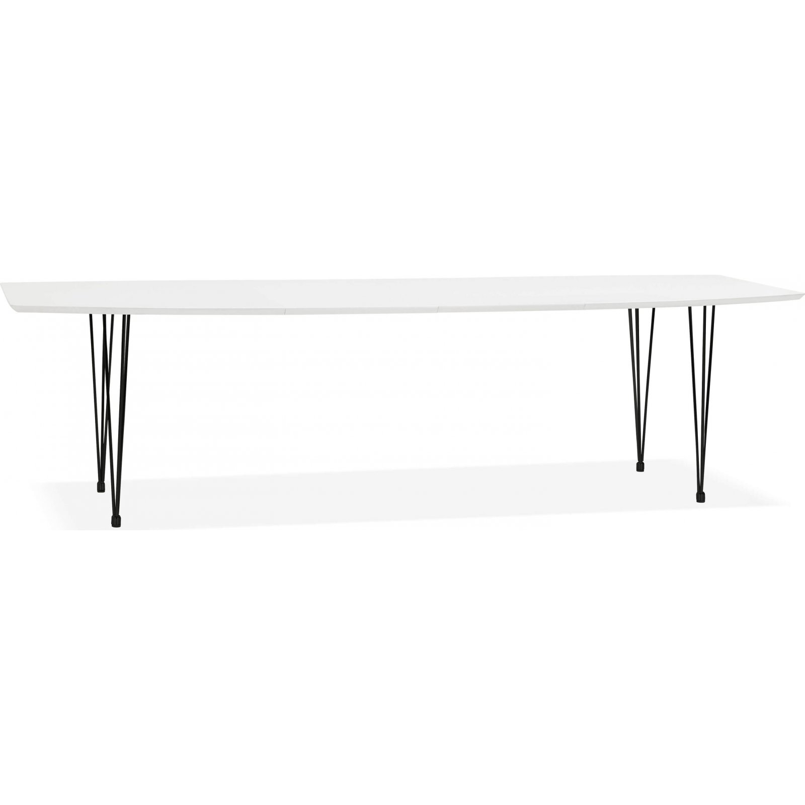 maison du monde Table à manger couleur blanc 10 places l270cm
