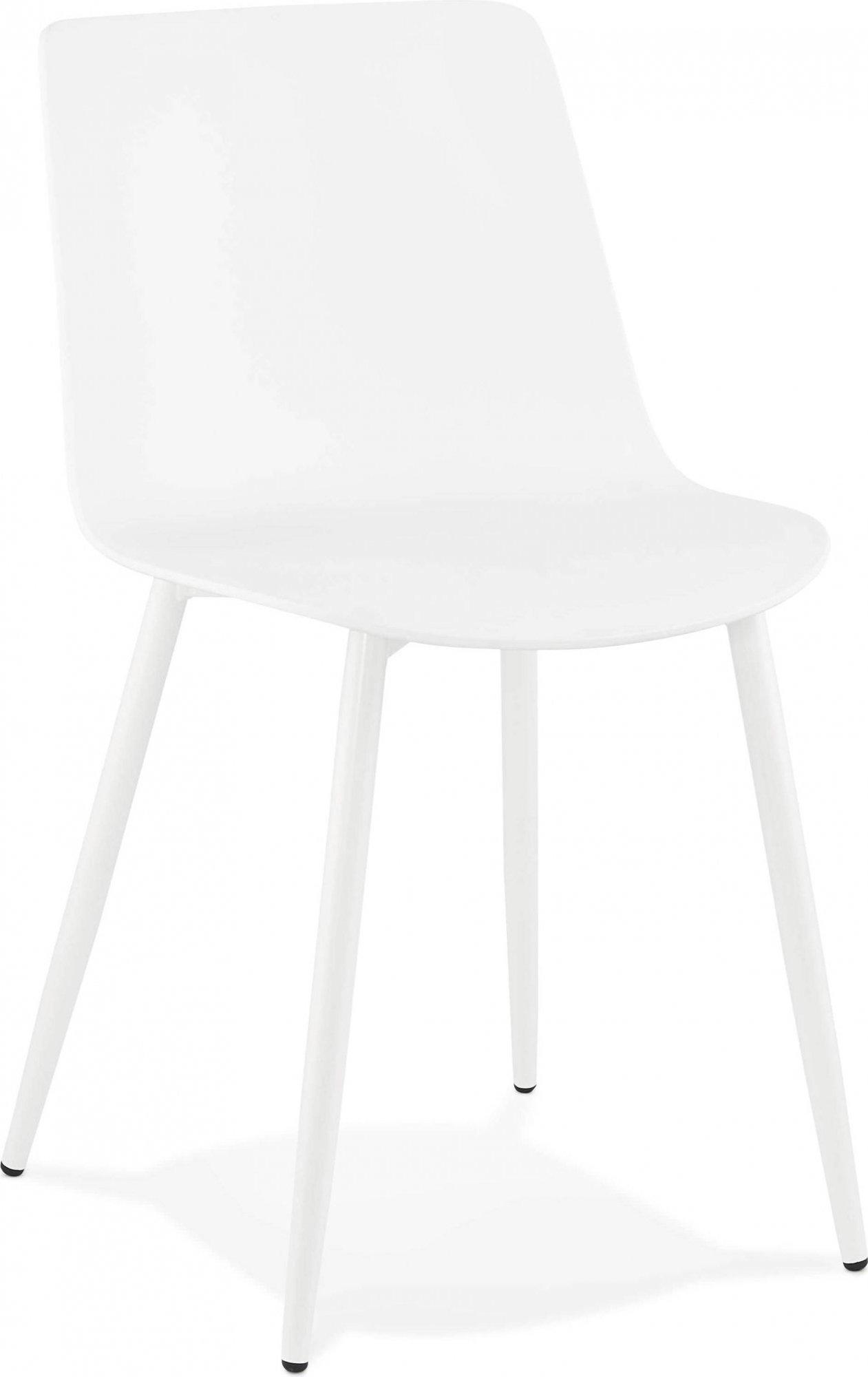 Chaise design couleur blanc