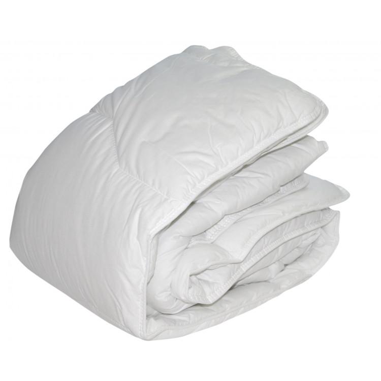 Couette synthétique en polyester blanc 200x200