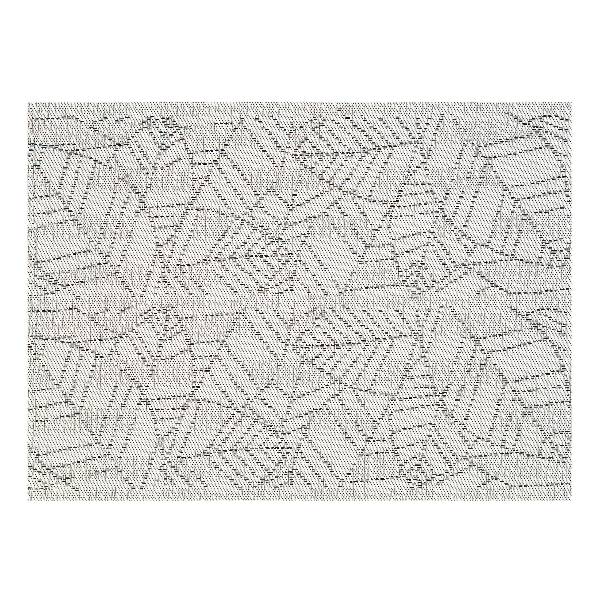 Set de table en pvc gris 33x45