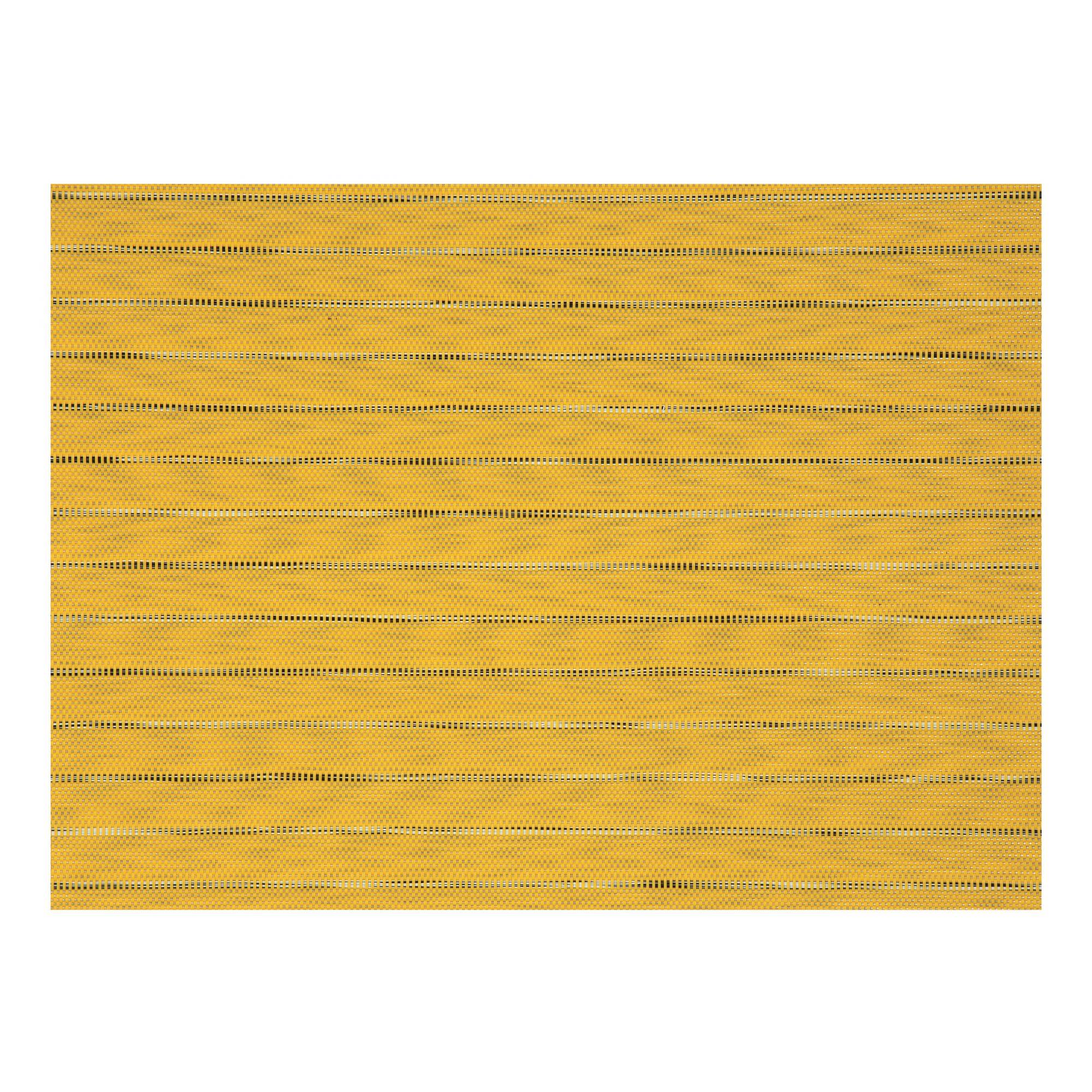 Set de table en pvc jaune 33x45