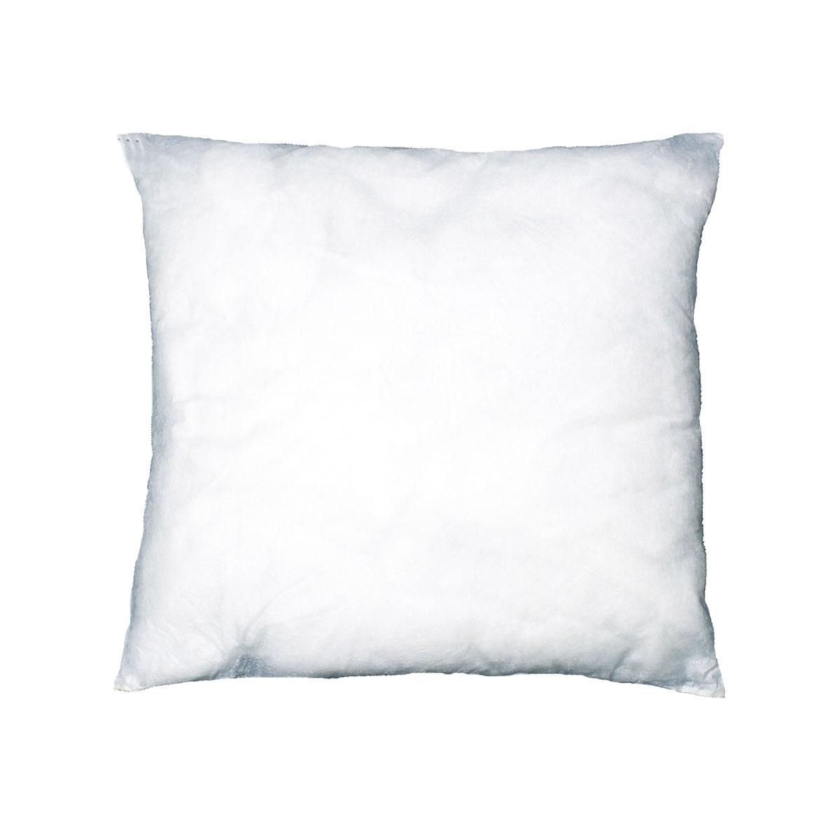 Coussin de garnissage en coloris blanc polyester blanc 45x45