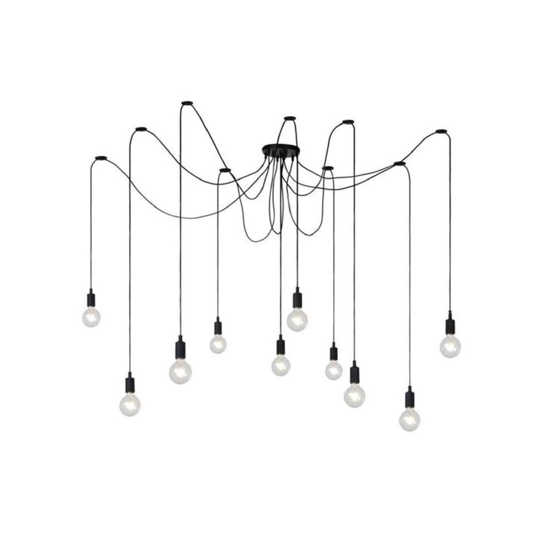 Suspension 10 lumières modulable