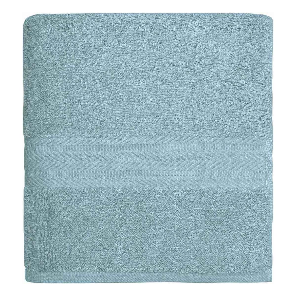 Drap de bain 550gr/m²  Bleu Arctic 70x140 cm