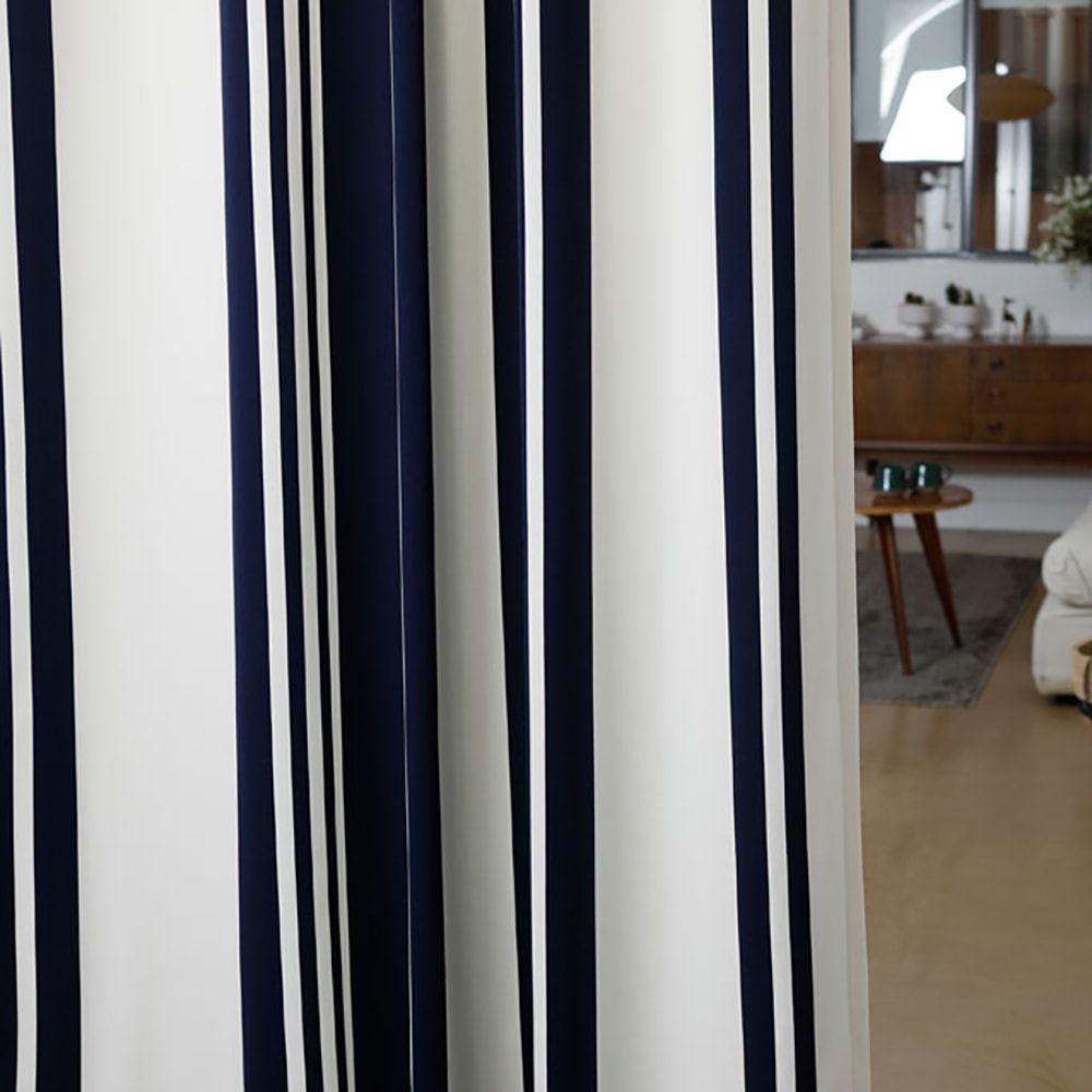 Rideau bleu 176x250