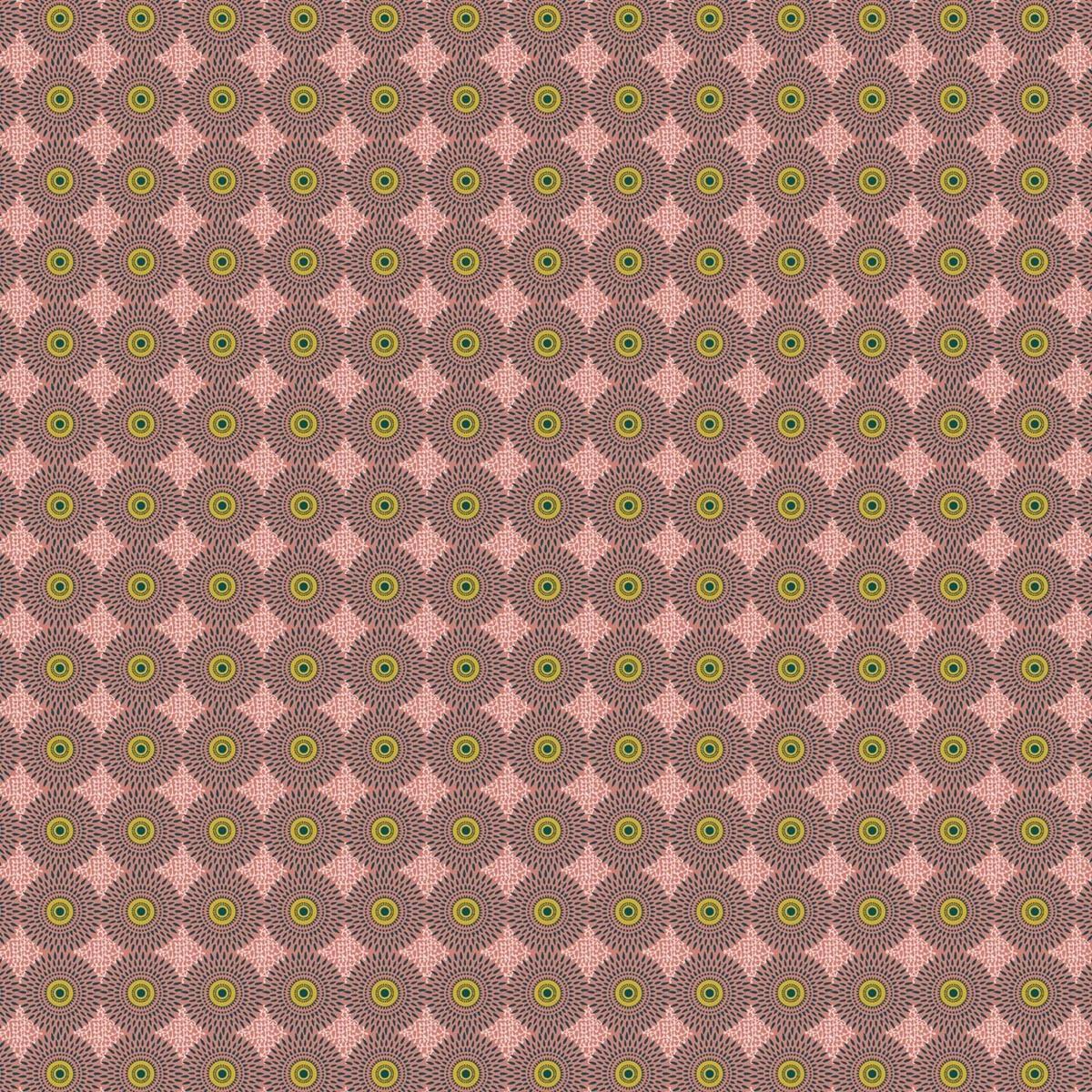 Toile de transat prête à poser imprimé fleuri rose
