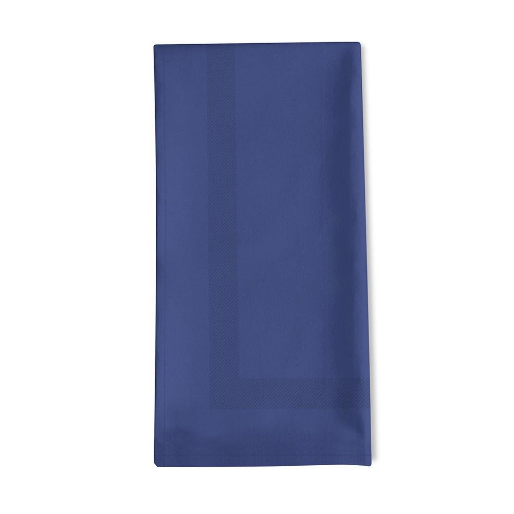 Serviette de table bleu 45x45