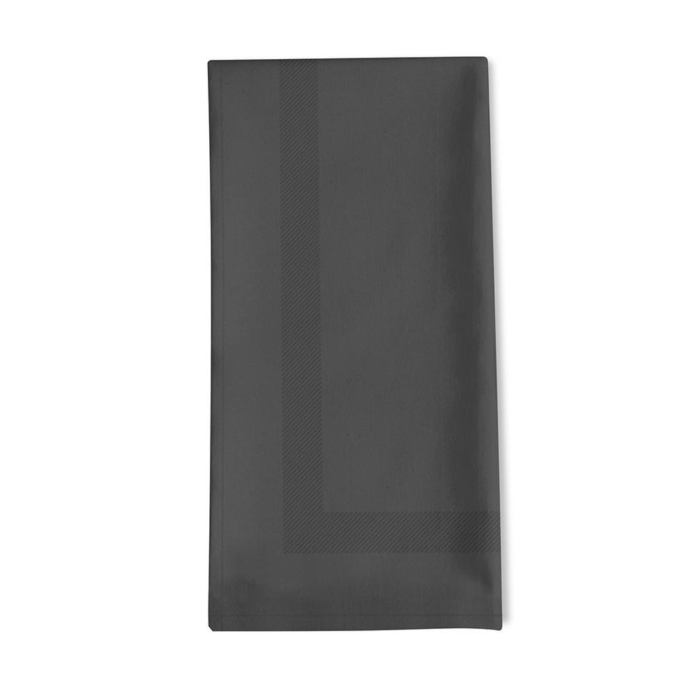 Serviette de table noir 45x45