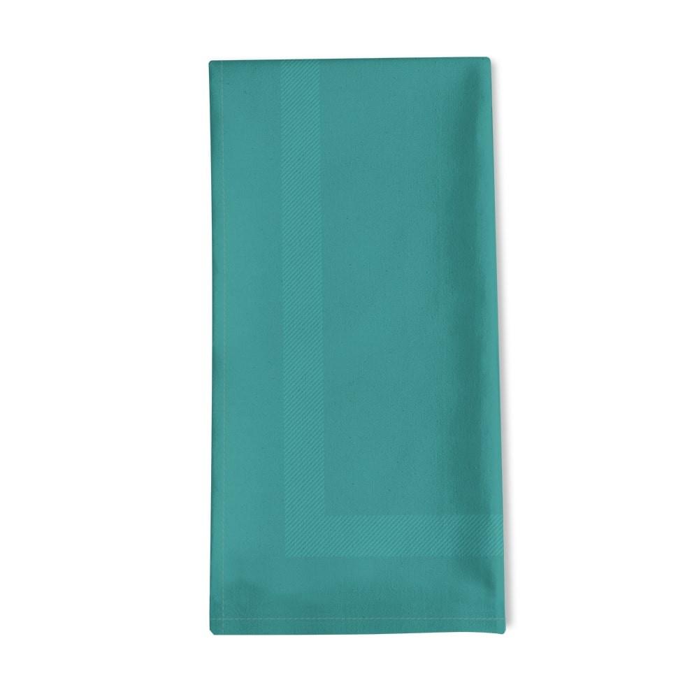 Serviette de table bleu 50x55