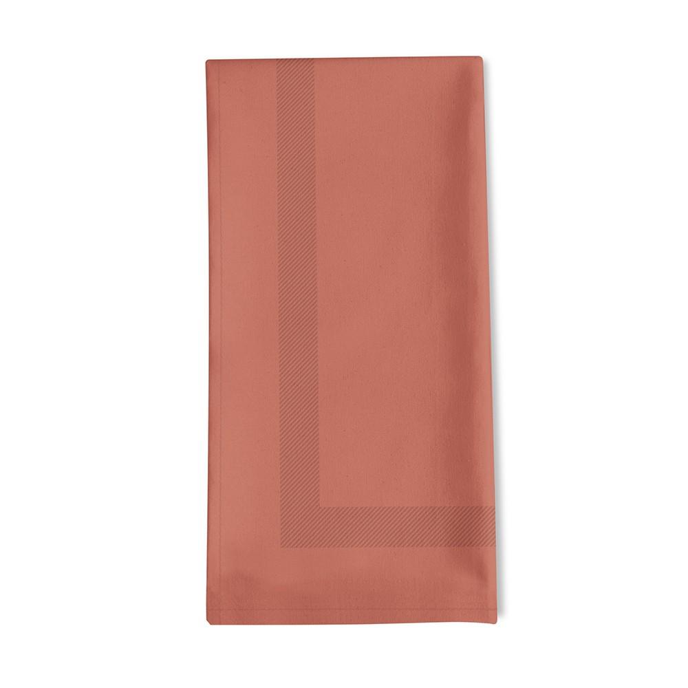 Serviette de table rouge 45x45