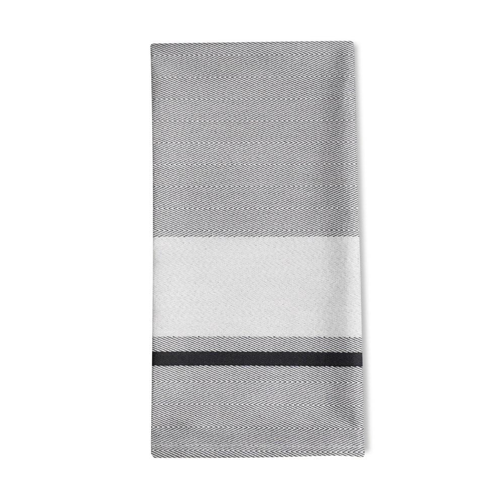Serviette de table gris 50x50