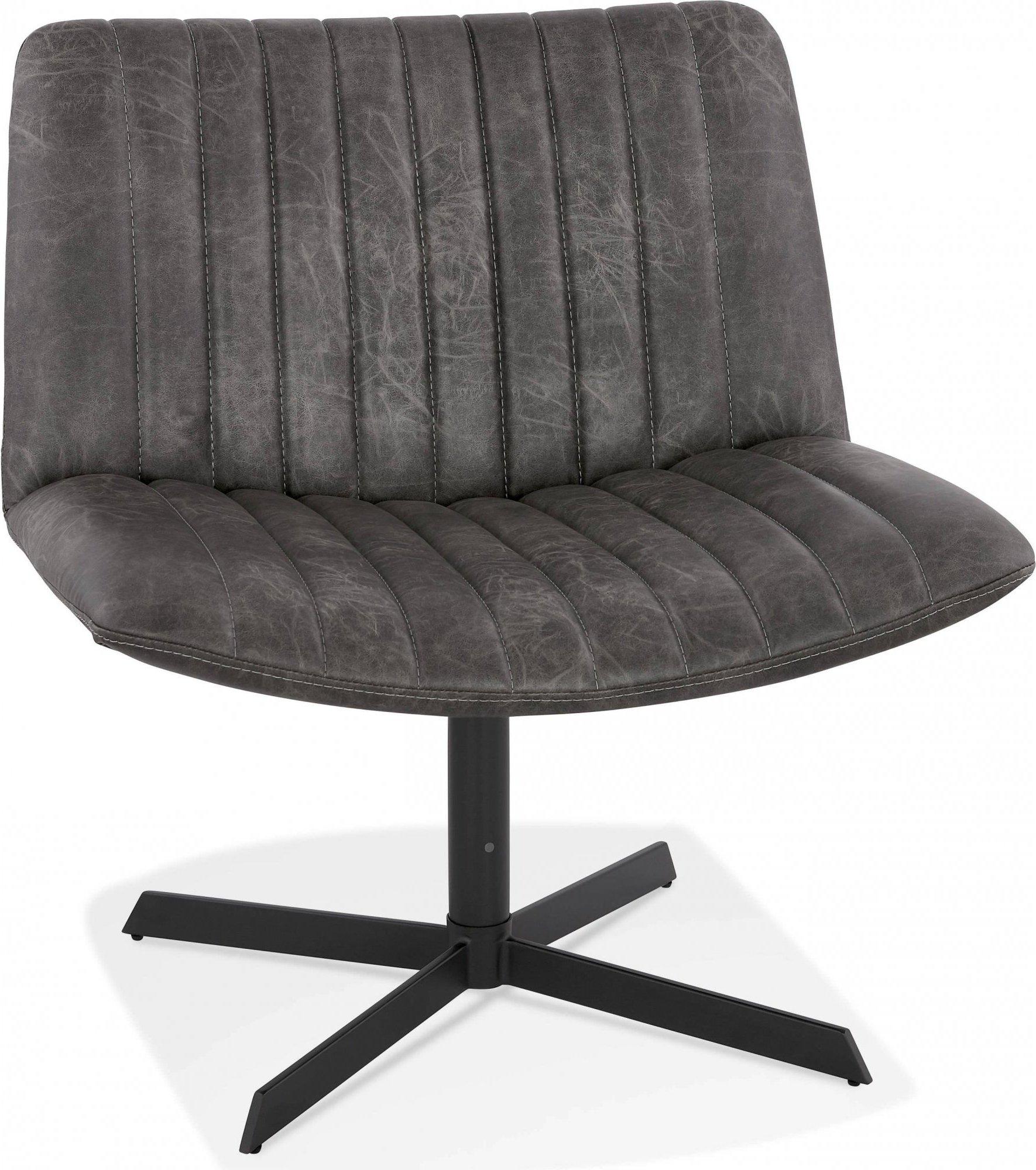 Fauteuil xxl rotation 360° couleur gris