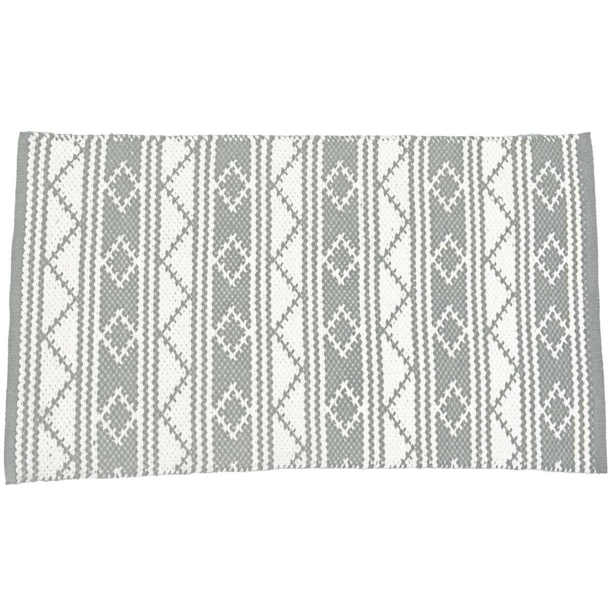 ANGELS - Tapis d'intérieur 100% coton Gris Perle 70x150