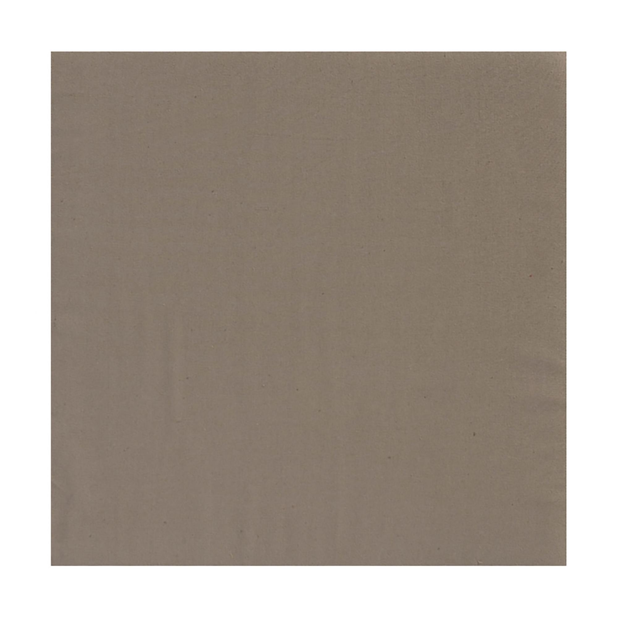 Serviette de Table Unie en coton taupe 50 x 50