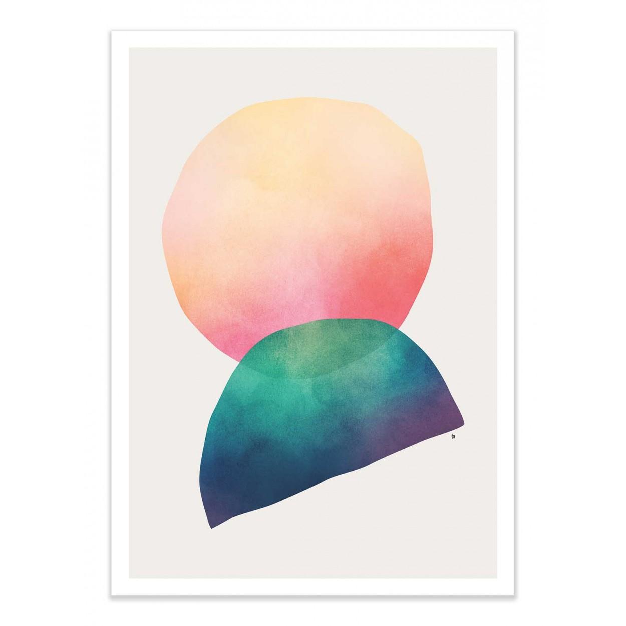 SUNRISE - Affiche d'art 50 x 70 cm