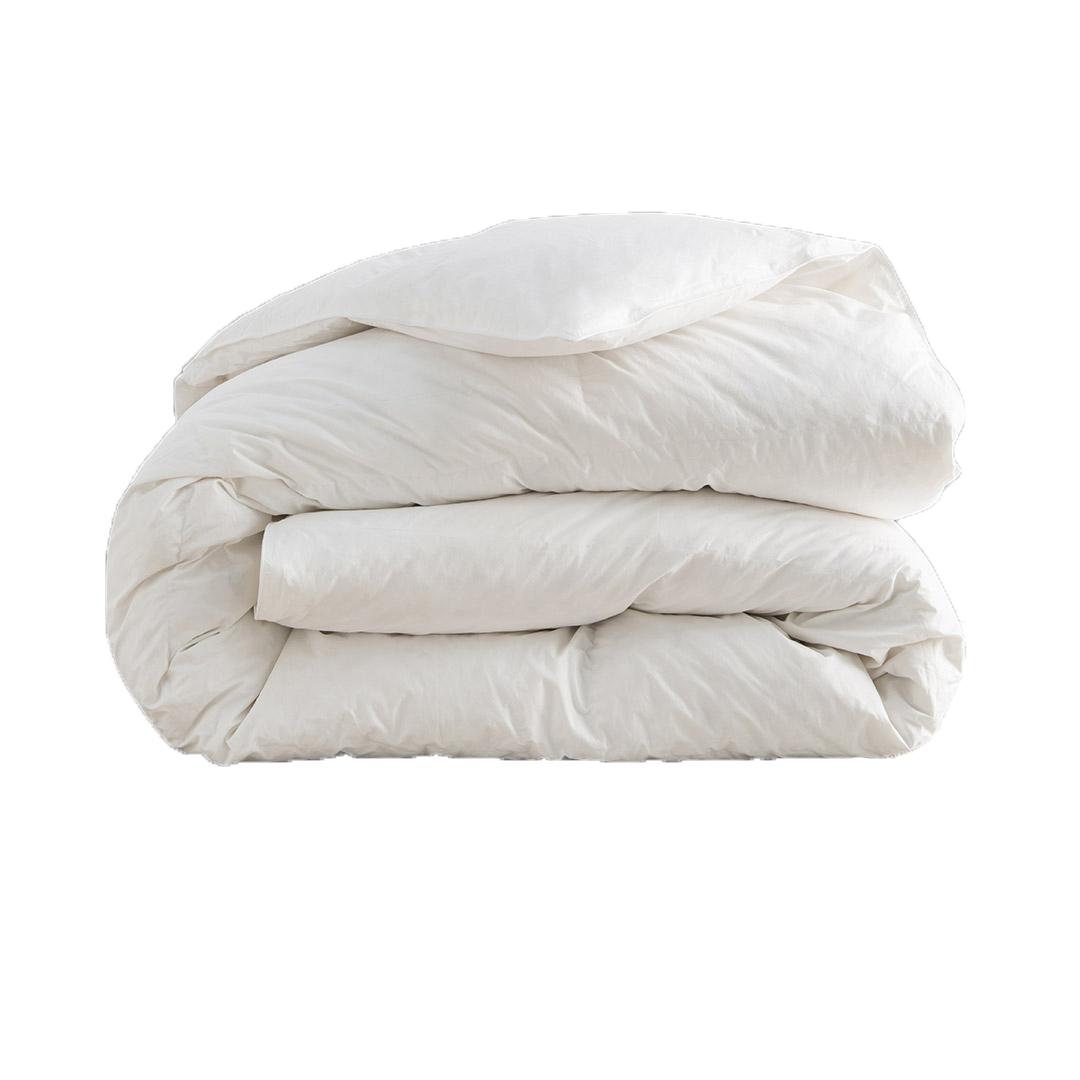 Couette ASTRALE - 30% duvet de canard blanc - Tempérée 200x200 cm
