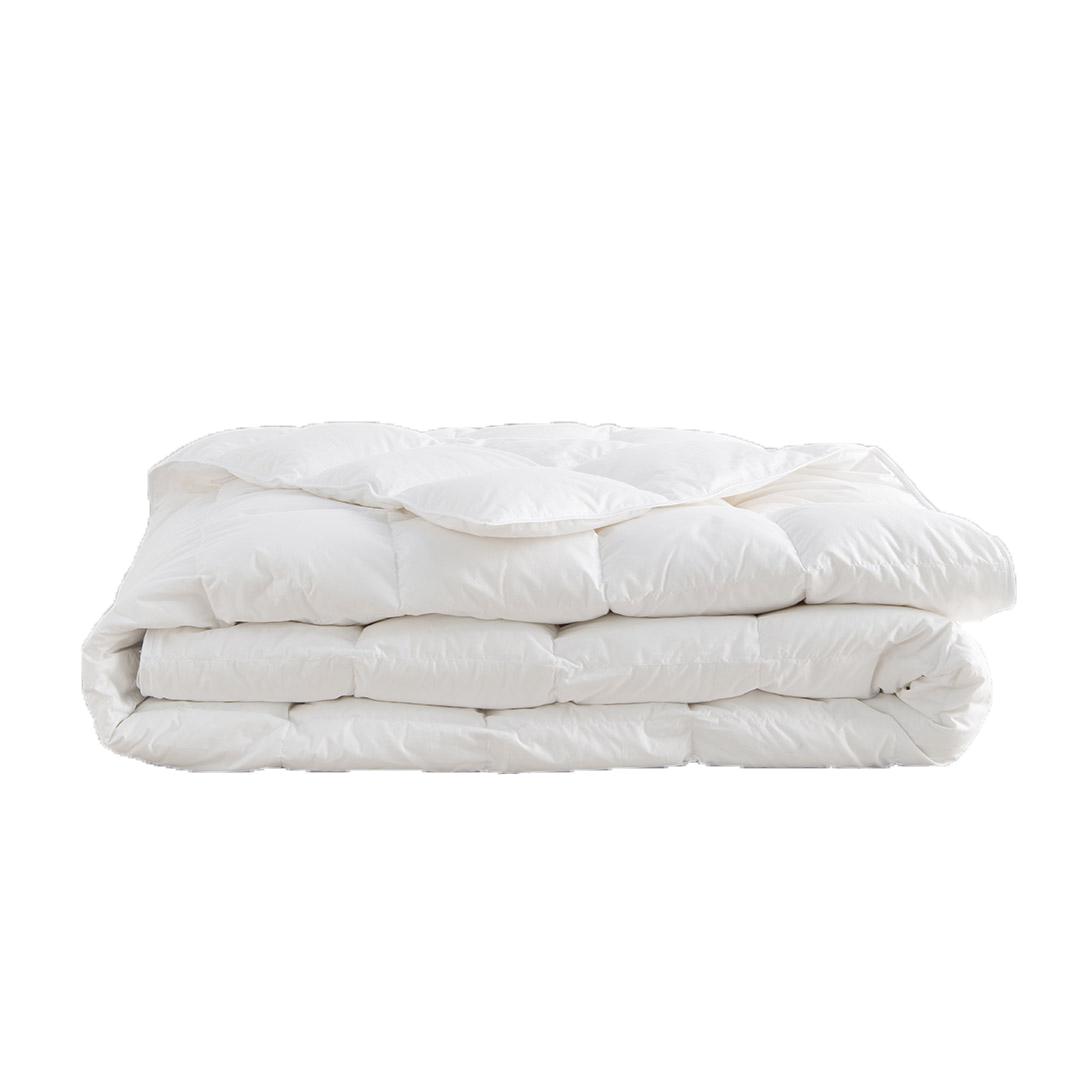 Couette Exception 100% duvet oie blanche Extra légère 200x200 cm