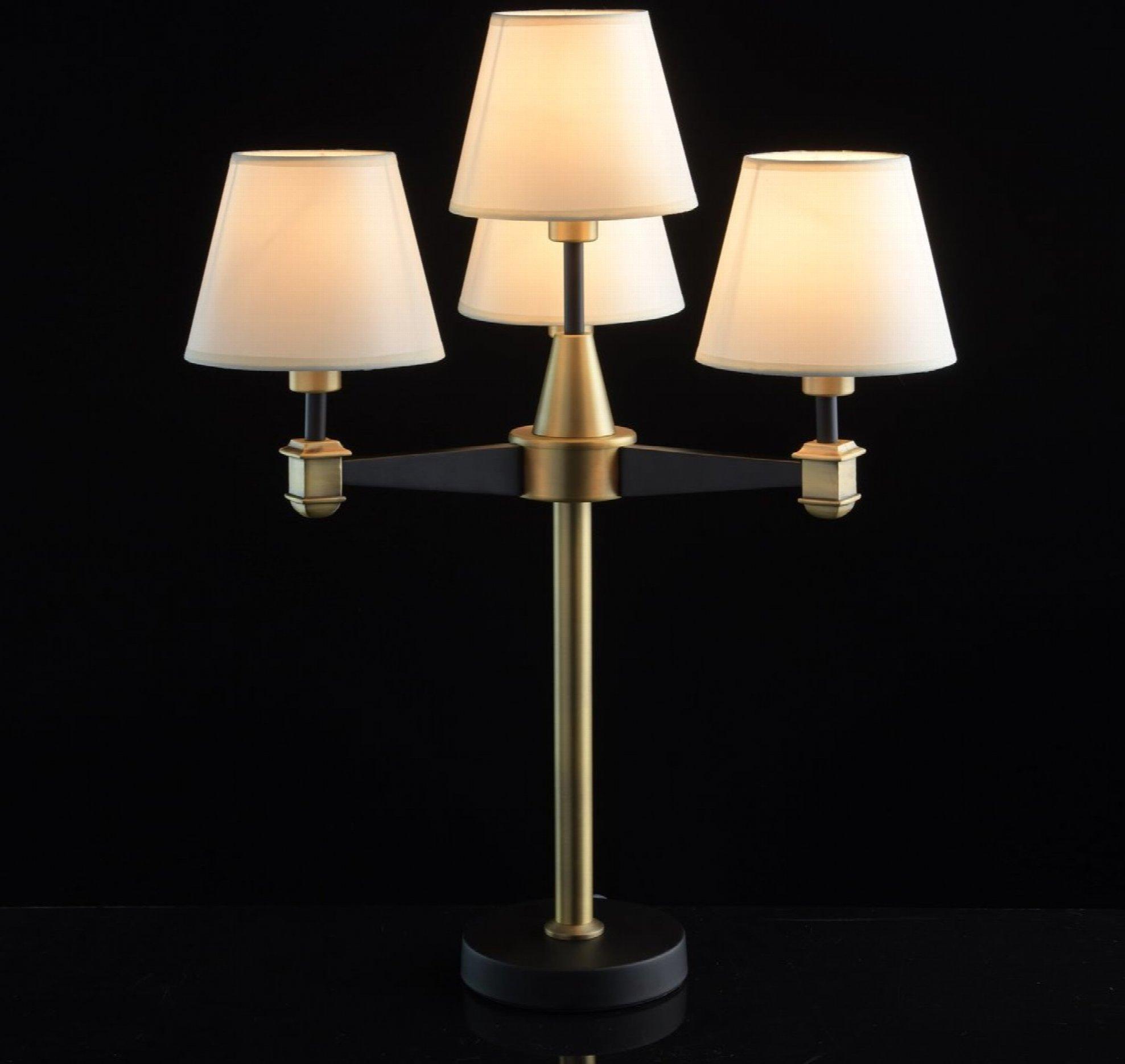 Lampe classique en laiton