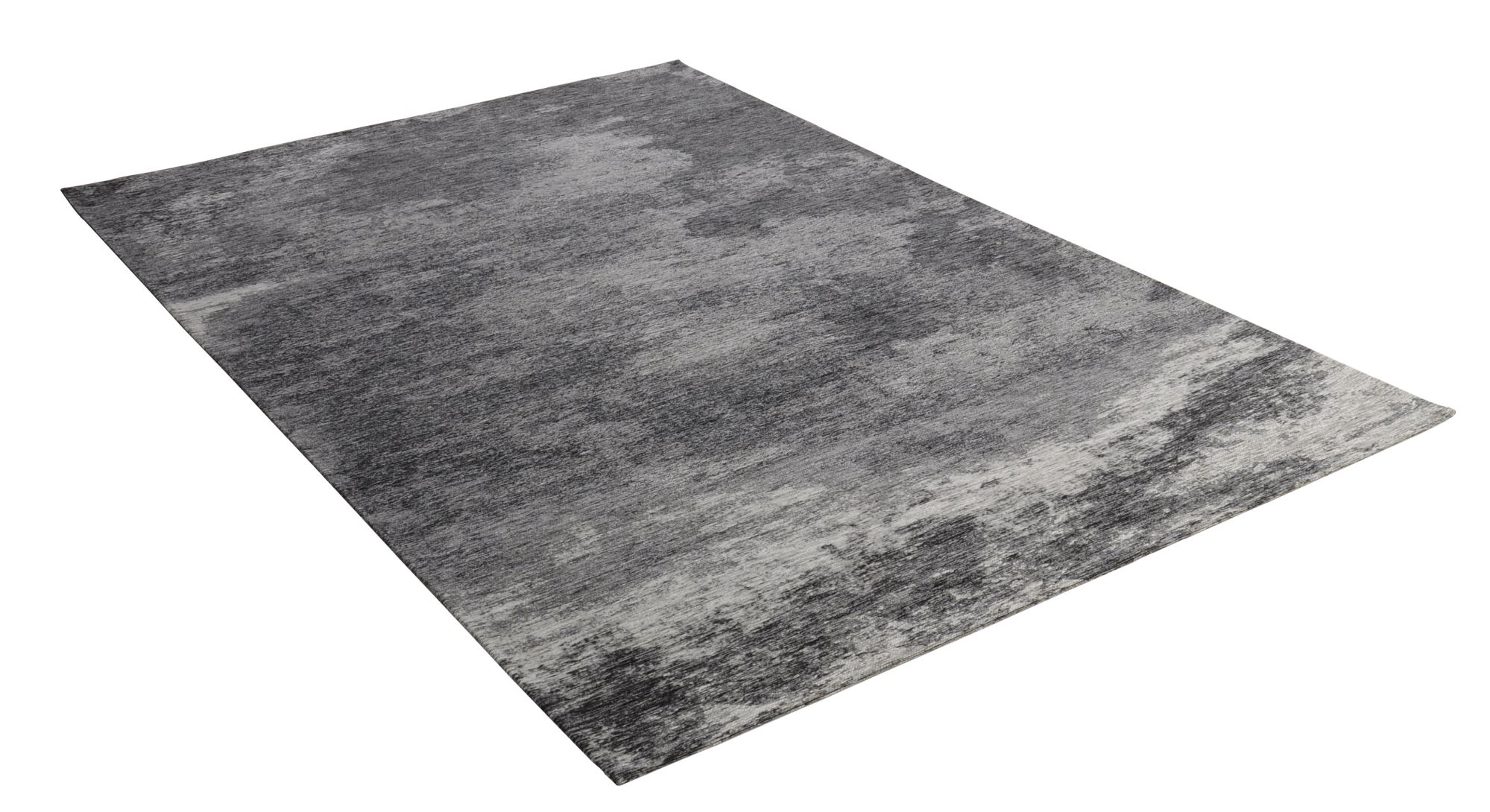 Tapis moderne très durable anthracite 68x140