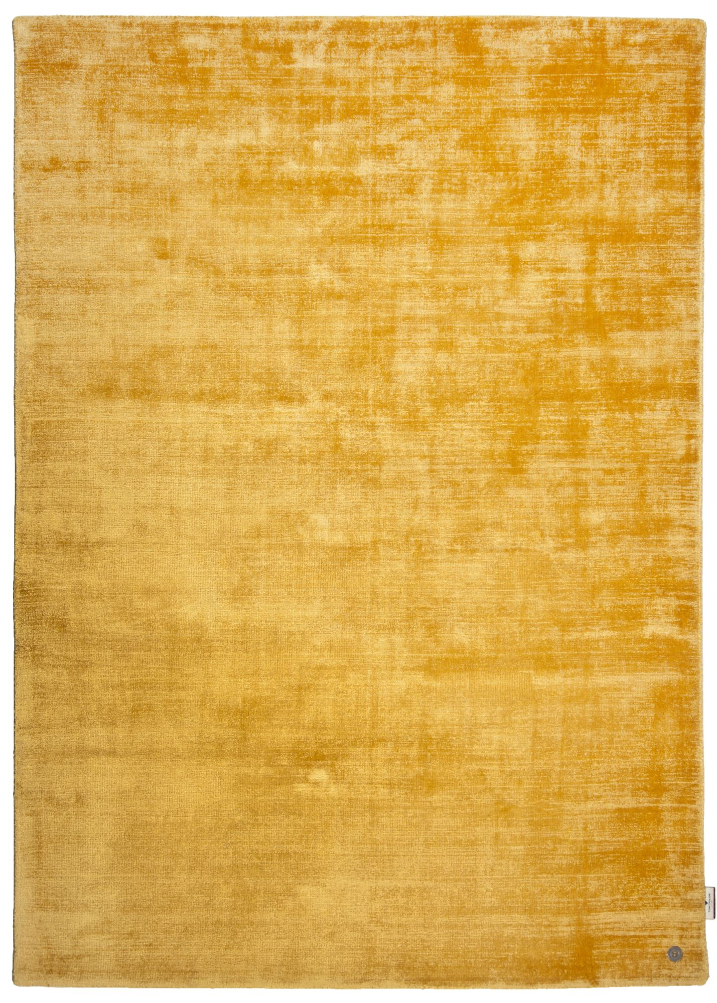 SHINE - Tapis élégant avec un doux brillant en viscose or 65x135