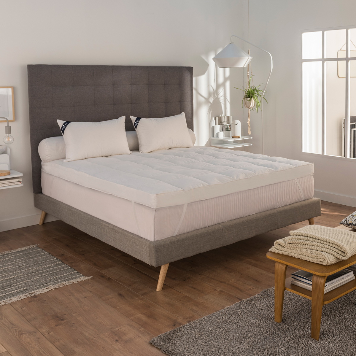 Surconfort de Matelas Haut Luxe Pro 200x200 cm