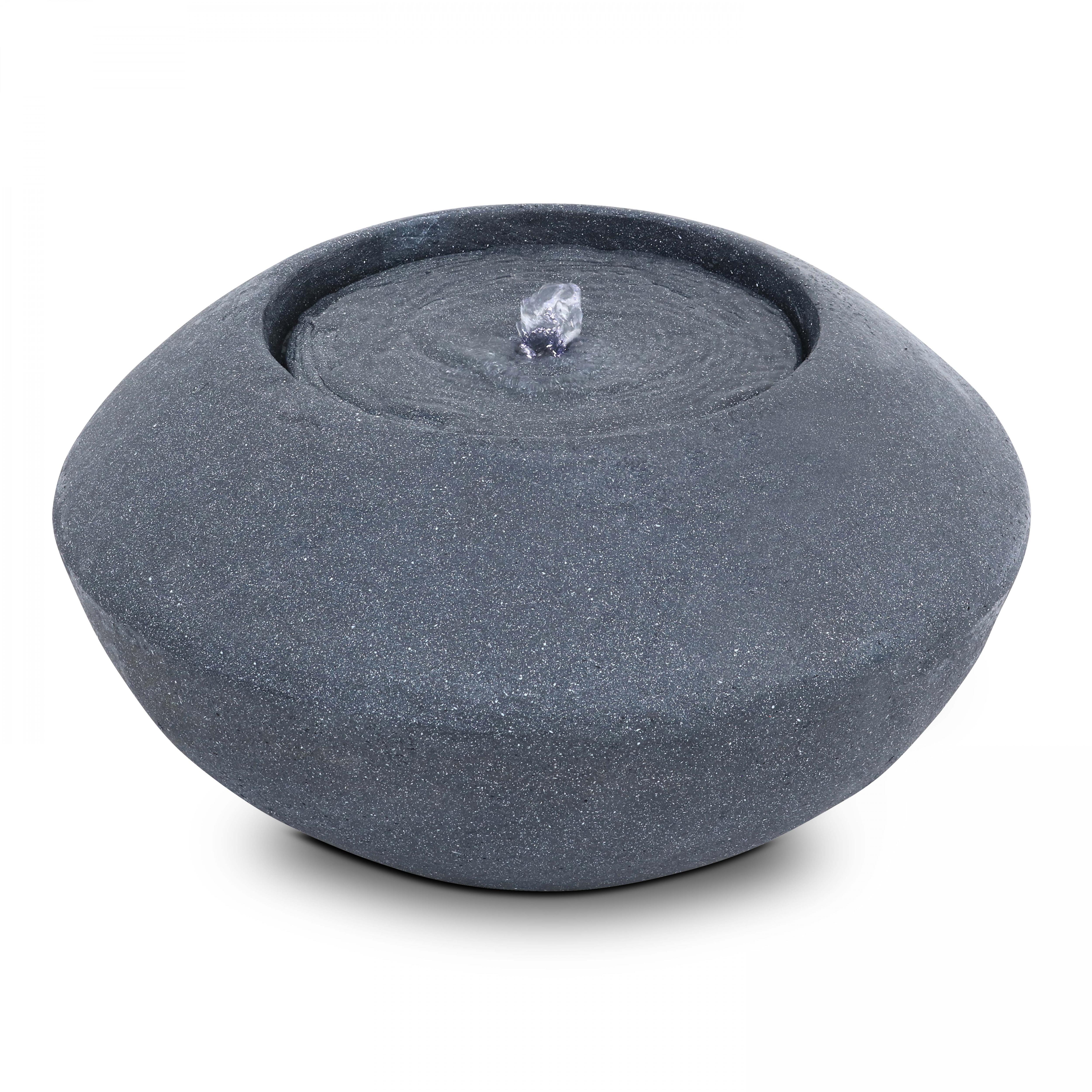 Fontaine pierre reconstituée gris
