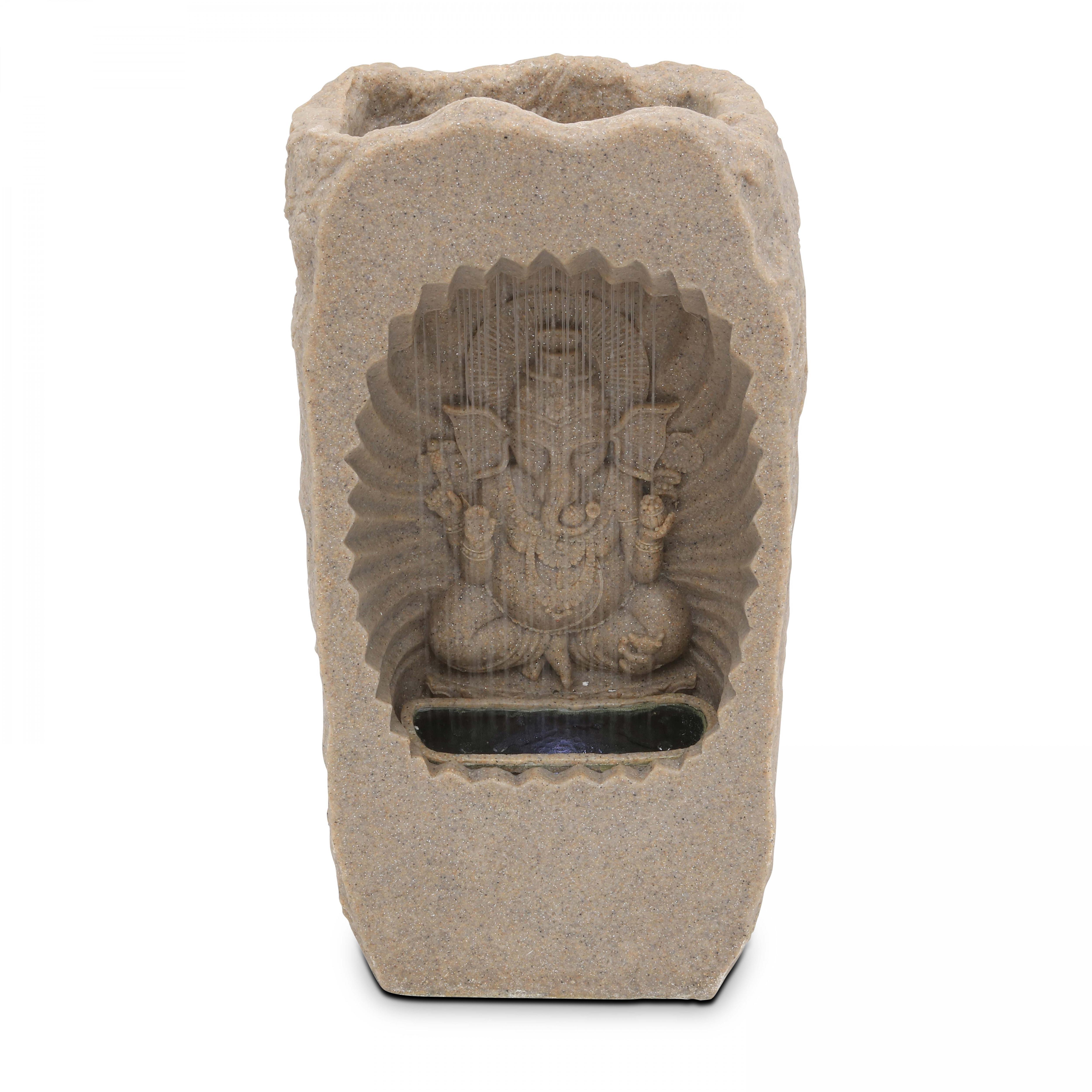 Fontaine Ganesh LED gris