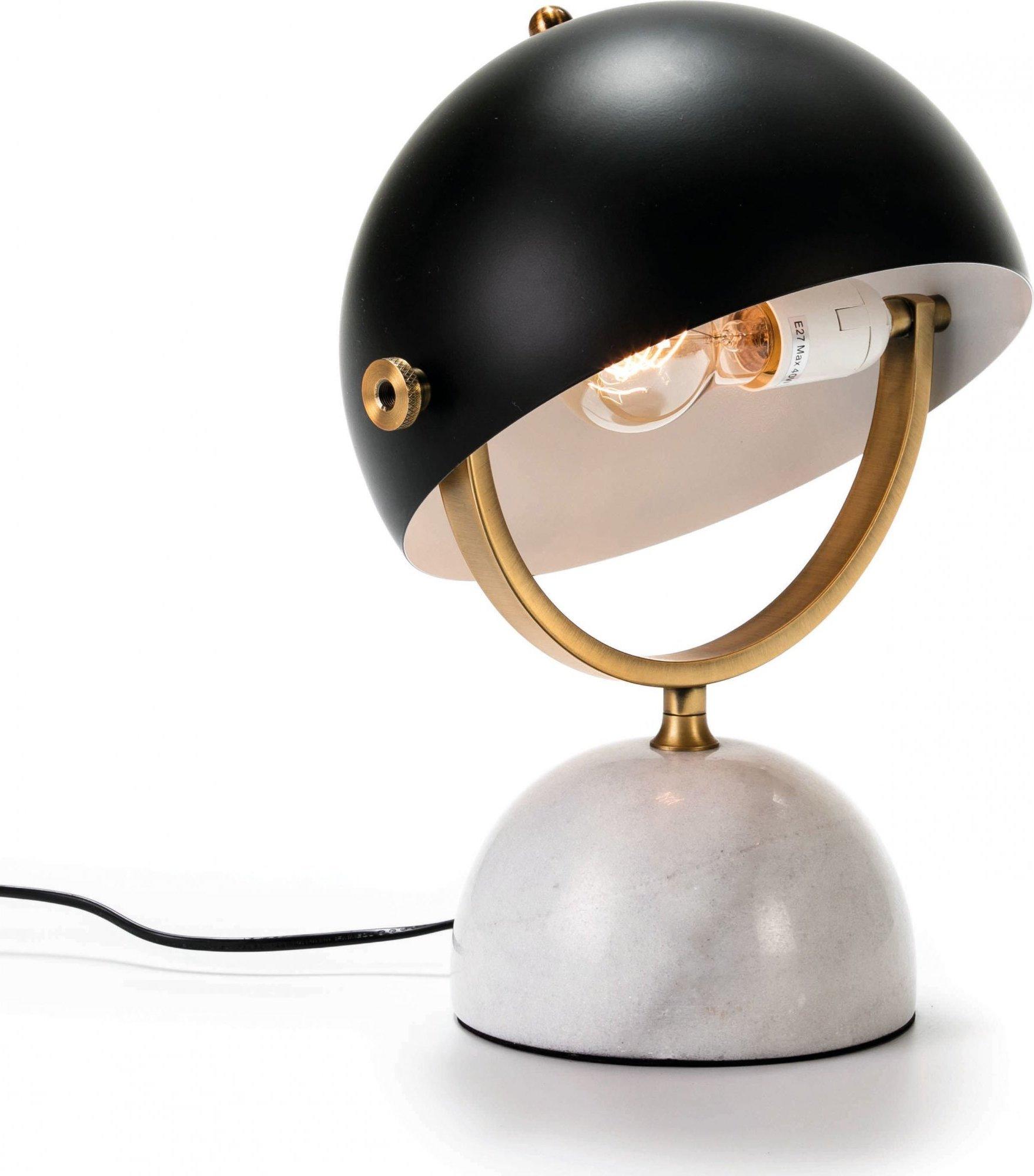 maison du monde Lampe de table blanche