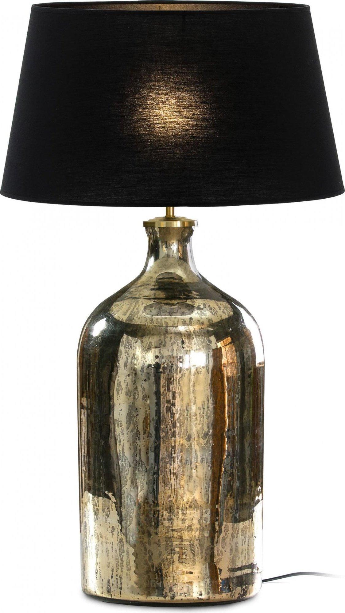maison du monde Lampe de table dorée