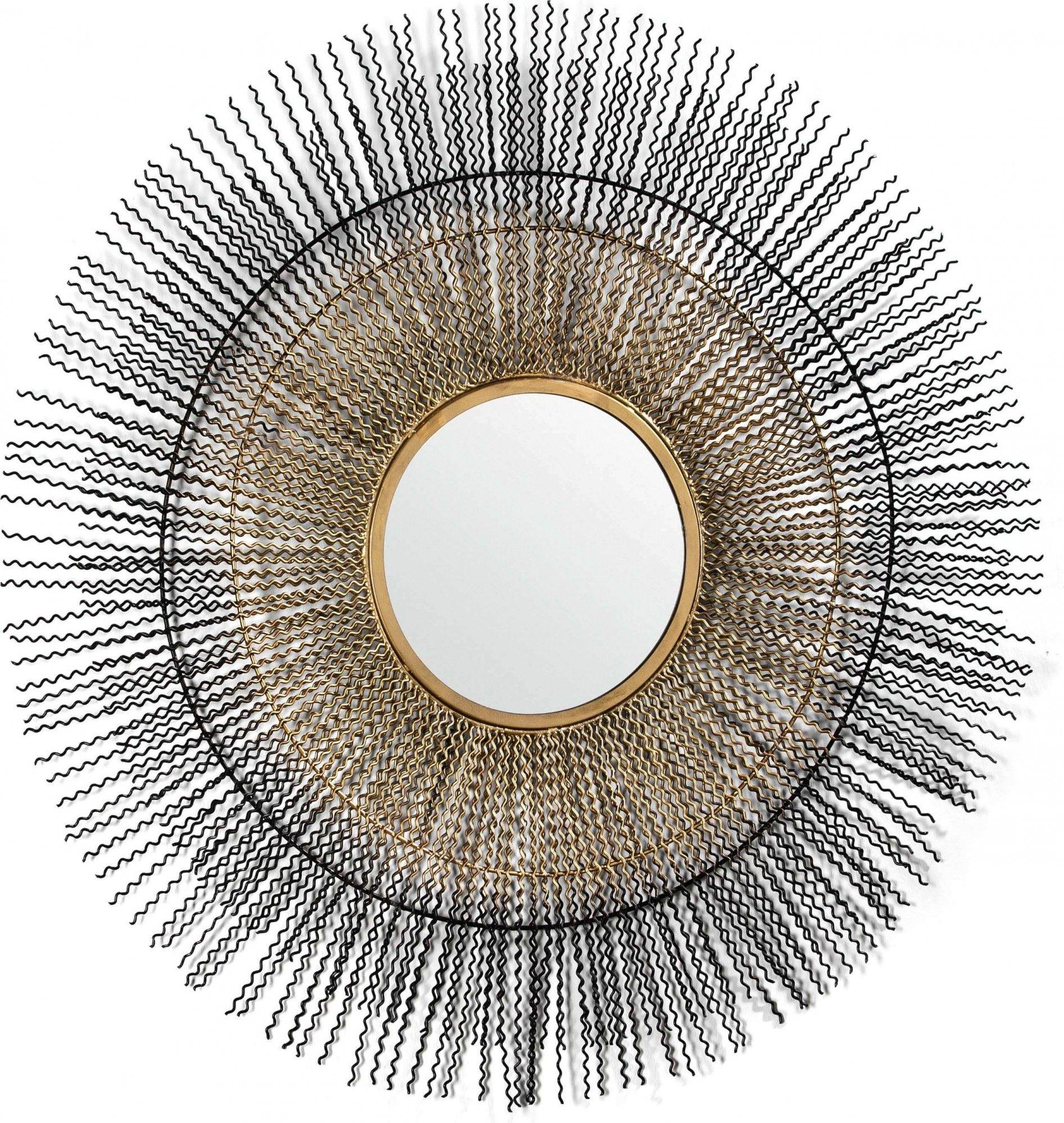 Miroir rond or d96