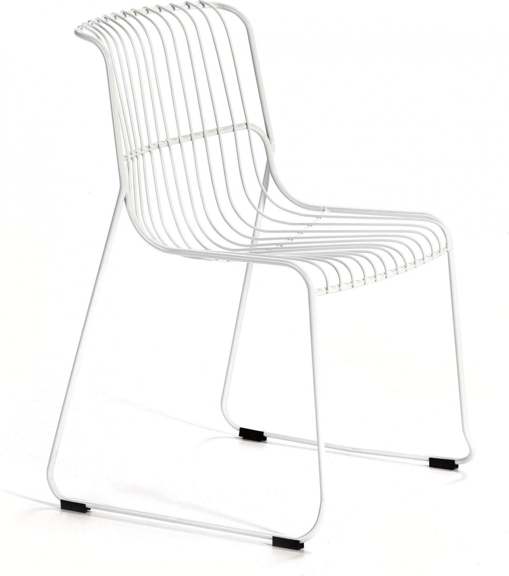 maison du monde Chaise design minimaliste couleur blanc