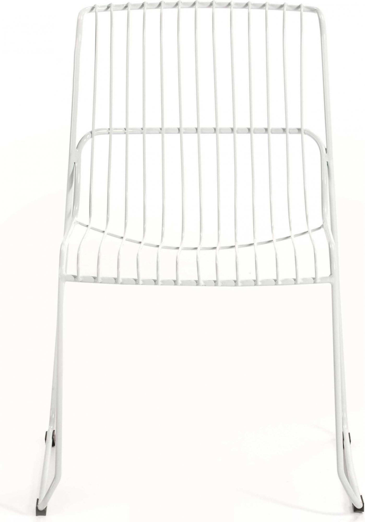 Chaise design minimaliste couleur blanc