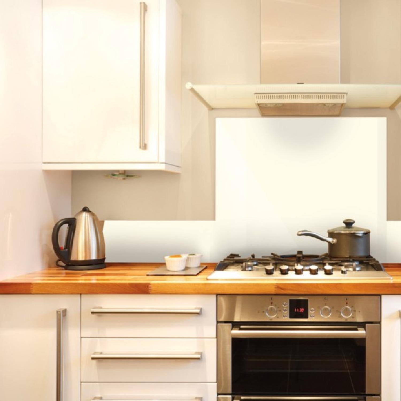 Crédence cuisine en alu lot de 2 bandeaux L100xH20cm