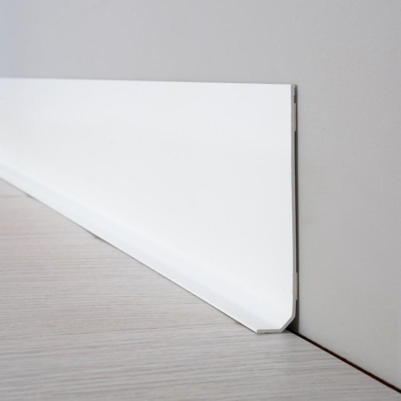 Lot de 10 plinthes PVC L100xH8cm