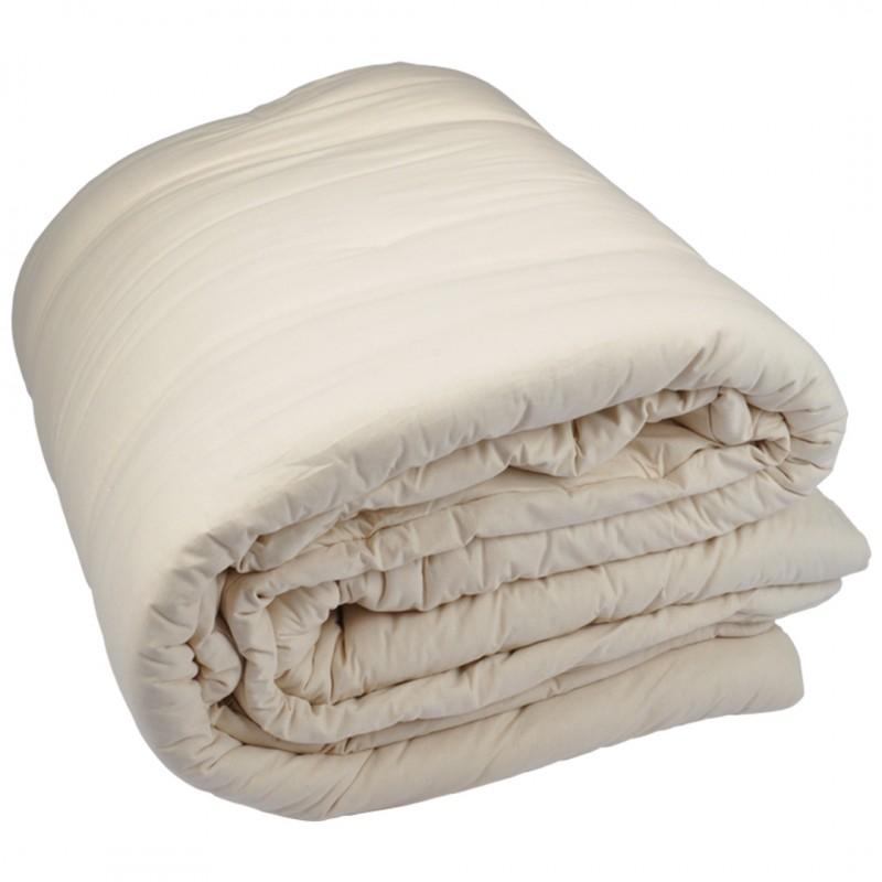 COTON - Couette d'hiver en coton bio 140x200
